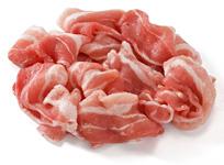 豚バラ切落し・小間切肉