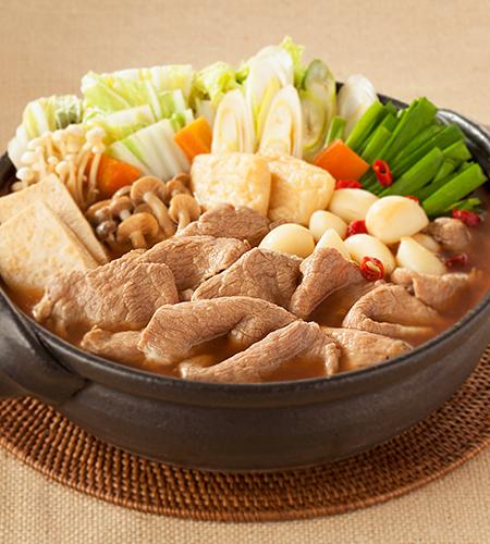 豚スタミナ味噌鍋