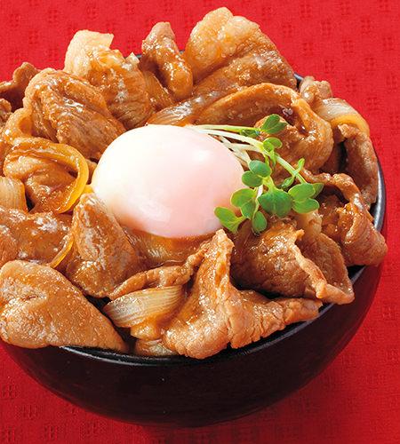 肉のハナマサ特製! 豚小間スタミナ丼