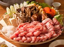 カナダポークの「豚肉3種鍋」
