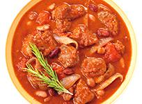 柔らかラム肉のトマト煮込み