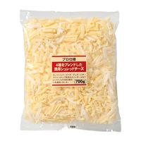 2月後半の特別お買得品<br />【プロ仕様】 4種をブレンドした濃厚シュレッドチーズ