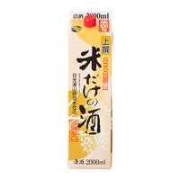 1月後半の特別お買得品 【北関酒造】 日光白根山 米だけの酒