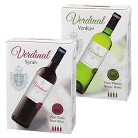 7月後半の特別お買得品<br />【スペイン直輸入ワイン】 ヴェルディナル(赤・白)
