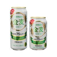 8月後半の特別お買得品<br />【サントリー】 金麦<糖質75%オフ>6缶パック
