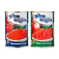 8月後半の特別お買得品<br />【イタリア直輸入】 ロンゴバルディー 完熟トマト缶 各種