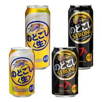 4月後半の特別お買得品<br />【キリンビール】<br />のどごし生 6缶パック・のどごしストロング 6缶パック